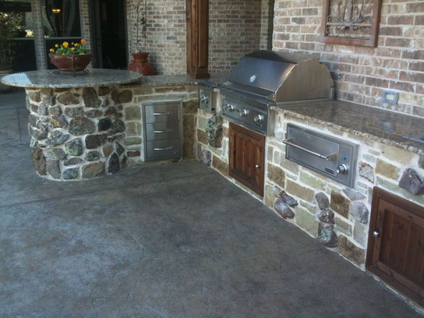 don kinsey- grill area